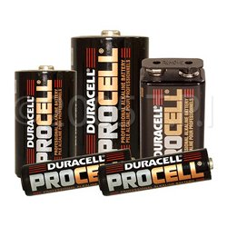 Duracell - 9V - PC1604 ProCell Heavy Duty 9 Volt Battery - Sold Each