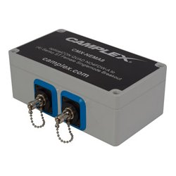 Camplex - CMX-NEMA8 - Singlemode OpticalCon QUAD NO4FDW-A to (4) ST Female Breakout Box