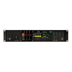 Ward-Beck Systems - AMS8-2AA - Ward-Beck Multichannel Audio Monitor w/Analog & AES/EBU Inputs 2 RU