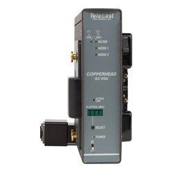 Telecast Fiber Systems - CHG3-CAM-NEU-AB - CopperHead Pro Camera Mount HD/SDI to OpticalCon Fiber Transceiver w/Anton Bauer