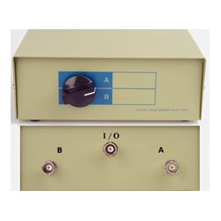 TecNec - DB25-AB - DB25 Female A/B Manual Switch Box