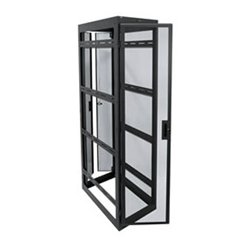 "Middle Atlantic Products - WMRK-4236SVR-AB - Middle Atlantic Products WMRK Series Enclosure - 19"" 42U Wide x 33.60"" Deep Floor Standing for Server - Black - 10000 lb x Static/Stationary Weight Capacity"
