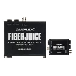 Camplex - FIBERJ-1P-TAC - Single Camera FiberJuice Tactical Fiber Power Supply & 1 ST Camera Pack