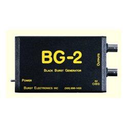 Burst Electronics - BG-2CBBAL - Burst BG-2CB Balanced Mini-XLR Dual Output Blackburst Generator with Color Bars