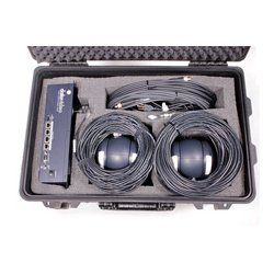 Datavideo - GO-2CAM - Datavideo 2 Camera GoKit - 2-Camera Remote Camera Kit with Controller Cables and Hand-Carry Case
