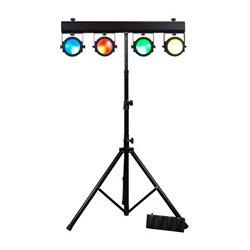 American DJ - DOT442 - DOTZ TPAR Light System w/ 4 x 30W COB Tri RGB LED
