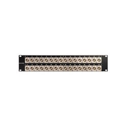 Canare Electric - 242U-DVJAS - Canare 2x24 Straight Video Patchbay
