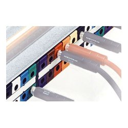 Neutrik - NPP-LB-8 - Neutrik Patchbay Colored Tab - Gray