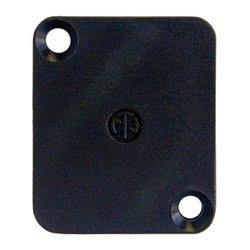 Neutrik - DBABL - Neutrik DBA-BL Dummy-plate to cover D-connector cutouts