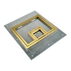FSR - 17,548.00 - FL-500P-B-C FL-500P Cover With 1/2 Inch Brass Carpet Flange (Lift off door)