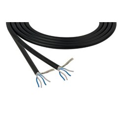 Belden / CDT - 1192A-100BE - 1192A Star Quad Low Impedance Mic & Instrument Cable 100 Foot - Blue
