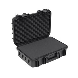 "SKB Cases - 3I-1813-5B-E - SKB 3I Mil-Std Waterproof Case - Internal Dimensions: 13"" Width x 18.50"" Depth x 4.75"" Height - 4.95 gal - Latching Closure - Heavy Duty - Stackable - Polypropylene - Black - For Audio Equipment"