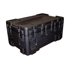 "SKB Cases - 3R4024-24B-E - SKB 3R 24"" Deep Roto Military Standard Waterproof Case - Internal Dimensions: 24"" Width x 24"" Depth x 40"" Height - Latching Closure - Polyethylene - Black - For Military"