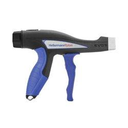 Hellermann Tyton - 110-80004 - Hellermann Tyton EVO 9HT High Tension Mechanical Cable Tie Hand Tool - 27 to 116 Pound Tension Range - Blue