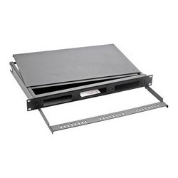Optical Cable - RTC1UBH - OCC Rackmount Fiber Cabinet 1 RU 4 Inch Deep with Front Cable Manager and Fiber Hoops