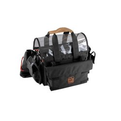 PortaBrace - AO-1.5XBH - Portabrace Audio Organizer Includes AH-2H Harness (no strap) Multiple Setups Medium - Black