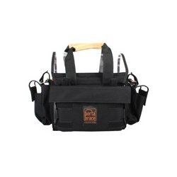 PortaBrace - AO-1XBH - Portabrace Audio Organizer Includes AH-2H Harness (no strap) Multiple Setups Small - Black