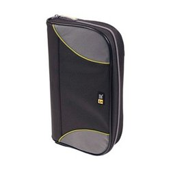 Other - CSW-72BK - Case Logic 72-CD Nylon Sport Media Wallet -Black
