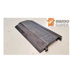 Elasco Guards - ED-8200BK - Elasco Products ED8200-BK Heavy Duty Single channel, 7.75x1.75 Black