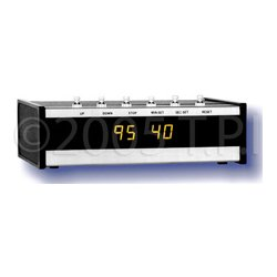 ESE - ES 301U P BLACK - 100 Minute 1/2 Inch High Yellow Digit Up/Down Timer- Rackmount Black