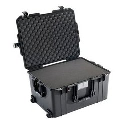 Pelican - 016070-0000-110 - Pelican 1607 Air Case with Logo and Foam - Black