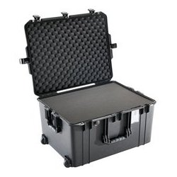 Pelican - 016370-0000-110 - Pelican 1637 Air Case with Logo and Foam - Black