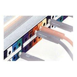 Neutrik - NPP-LB-1 - Neutrik Patchbay Colored Tab - Brown