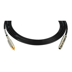 Sescom - SC1.5SJRBN - Canare Star-Quad Audio Cable 1/4-Inch TS Female to RCA Male 1.5 Foot - Brown