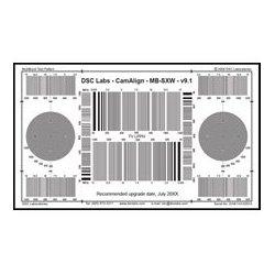 DSC Labs - SRW5-MB - DSC Labs MultiBurst Test Chart - Senior 24 x 14.7