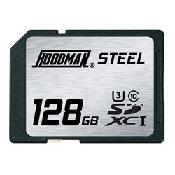 Hoodman - RAWSDXC128GBU1 - Hoodman Steel Secure Digital High Capacity 128GB UHS-1