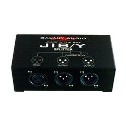 Galaxy Audio - JIB Y SPLITTER - XLR Microphone Splitter