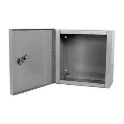 Milbank - 10124-LC1 - Millbank 10x12x4 Inch Indoor Hinged Cover Panel Enclosure