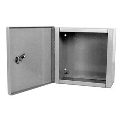 Milbank - 12124-LC1 - Milbank Indoor Surface Mount Hinged Cover Junction / Pull Box 12x12x4