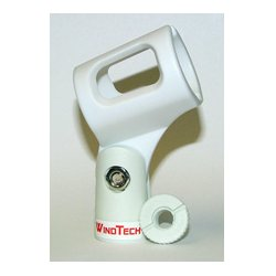 Wind Tech / Olsen Audio - MC-2 - White Microphone Clip