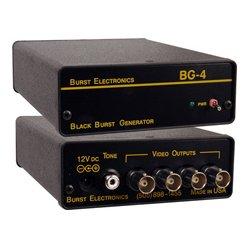 Burst Electronics - BG-4CB - Burst Quad Output Blackburst Generator with Color Bars
