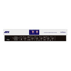 ARX America - UNIFACE - ARX Uniface AV/Podcast Mixer Interface with Automatic Gain Control