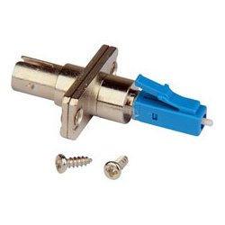 Camplex - FOA-STF-LCM - ST Female to LC Male Singlemode Simplex Hybrid Adapter - Flanged