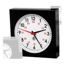 ESE - LX 5112U-NTP-C/POE - Self-Setting 12 Inch Analog Clock with NTP-C/PoE Option