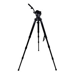 Cartoni - KF08-3CS - KF08-3CS Focus 8 with Long Style Sliding Plate/Stabilo Carbon Fiber Tripod/Pan Bar & Soft Case