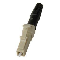 Senko - 931-251-2D3 - Senko Premium 127um MultiMode Simplex Fiber LC Conector 3mm Blk Boot