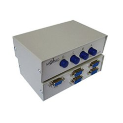 Other - DB9-ABCD-B - 4 Port Manual DB9 Share Switch Box - Metal