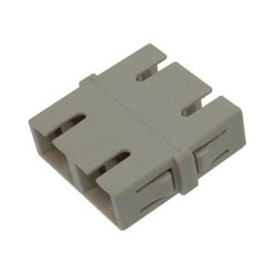 Camplex - FOA-SC-SC-DM - SC to SC Multimode Duplex Fiber Optic Coupler Adapter Bronze Sleeve