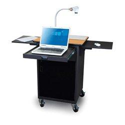 Marvel Office Furniture - MVPCA2622OKDT - Presentation Cart with Acrylic Door - Oak