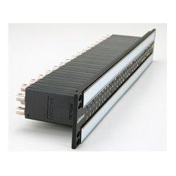 BitTree - 969A072 - B96DC-FNALT/E3 E3 2x48 2RU Front Programmable TT Audio Patchbay