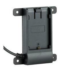 ikan - BP5T-E6 - ikan Canon E6 Battery Plate w/ Coax Connector - 1 x Battery Support - Proprietary Battery Size - Black