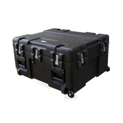 "SKB Cases - 3R3025-15B-EW - SKB 3R 15"" Roto Military Standard Waterproof Case - Internal Dimensions: 25"" Width x 15"" Depth x 30"" Height - Latching Closure - Polyethylene - Black - For Military, Lighting Equipment, Video Equipment"