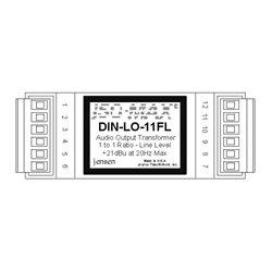 Jensen Transformers - DIN-LOF - Jensen 600 to 600 1:1 Line Output Module