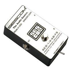 Sescom - SES-1/4-AB-FS - Sescom SES-1-4-AB-FS Balanced Audio 1-4 Inch A-B Passive Foot Switch