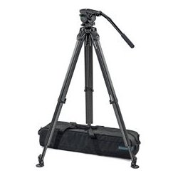 Vinten / Sactler / Petrol - VIN-VB-FT - Vinten VB-FT System Vision Blue with Flowtech75 - Carbon Fiber Tripod without Mid-Spreader