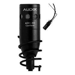 Audix - ADX40HC - Audix Microphones ADX40HC Miniature Hanging Choir Hypercardioid Microphone